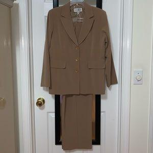 Two Piece Tan Women's Suit